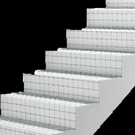 panel para escalera