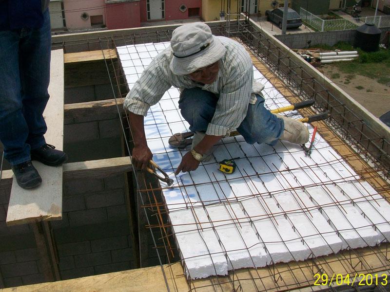panel para losa estructural